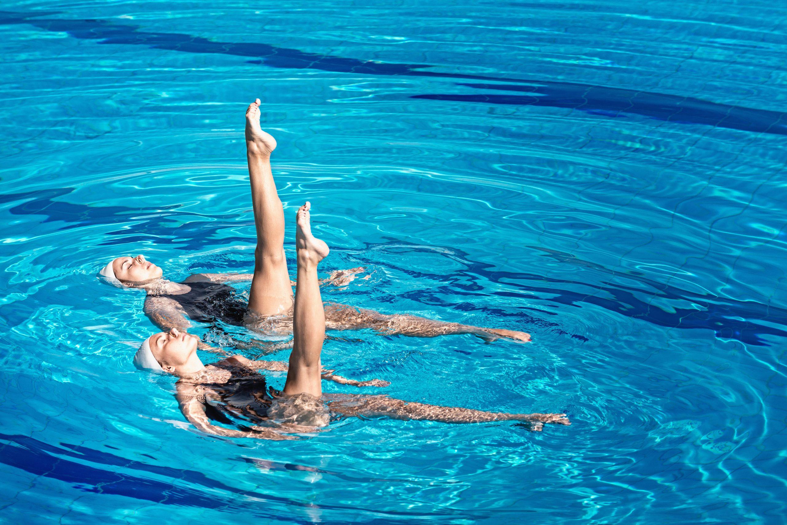 Šport Synchronizované plávanie