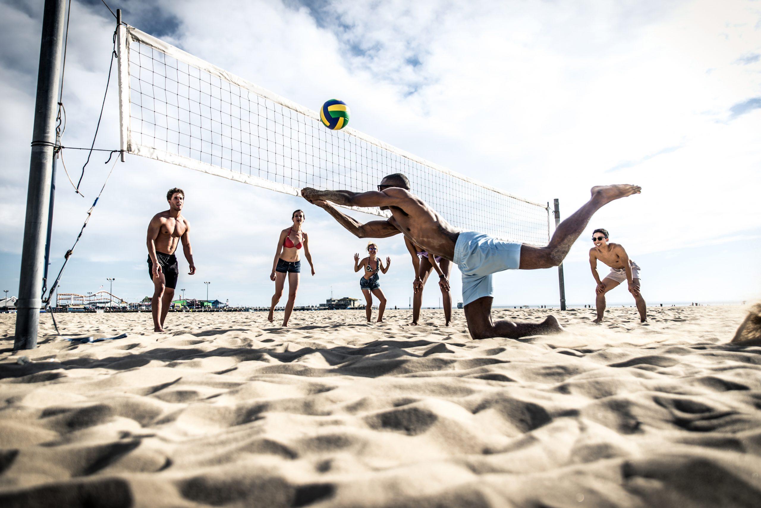 Šport Plážový volejbal