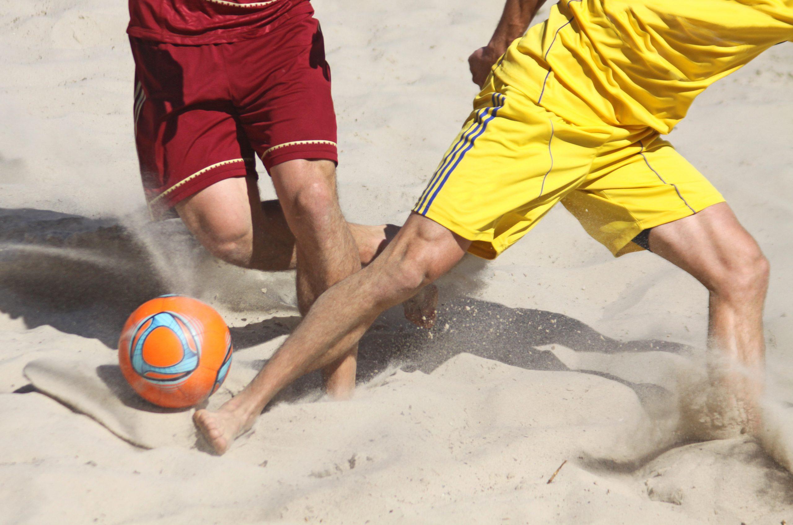 Šport Plážový futbal